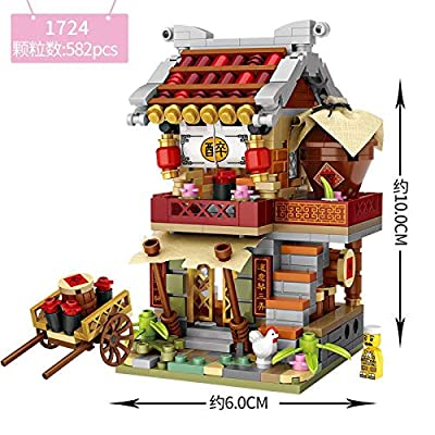 LOZ Building Bricks Blocks Micro NO.1724 Compatible Nano Chistmas Bithday Gifts for Kids DIY Figures Assemble Educational Toys Model Kits: Toys & Games