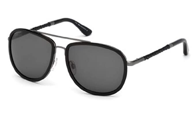 a80204d60a Amazon.com  TOD S TO0100 Sunglasses Color 01A  Clothing
