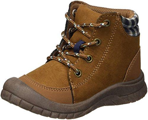 Image of OshKosh B'Gosh Boys' Benito Ankle Boot, Brown, 8 M US Toddler