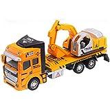 Vidatoy 1:48 Die Cast Excavator Metal Plastic Construction Toy Vehicle