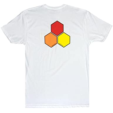 Channel Islands Curren OG Hex T-Shirt in White S (small)