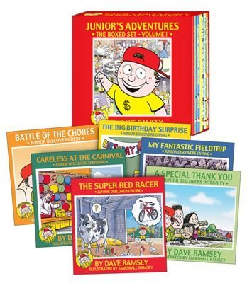 Boxed Hardback Set - Junior's Adventures Boxed Set By Dave Ramsey, Hardback (Life Lessons with Junior)