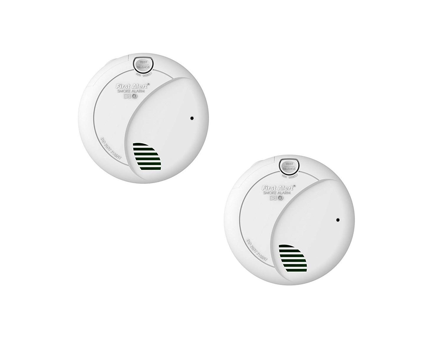 First Alert Hardwired Smoke Alarm with Photoelectric Sensor and Battery Backup,  BRK 7010B by First Alert