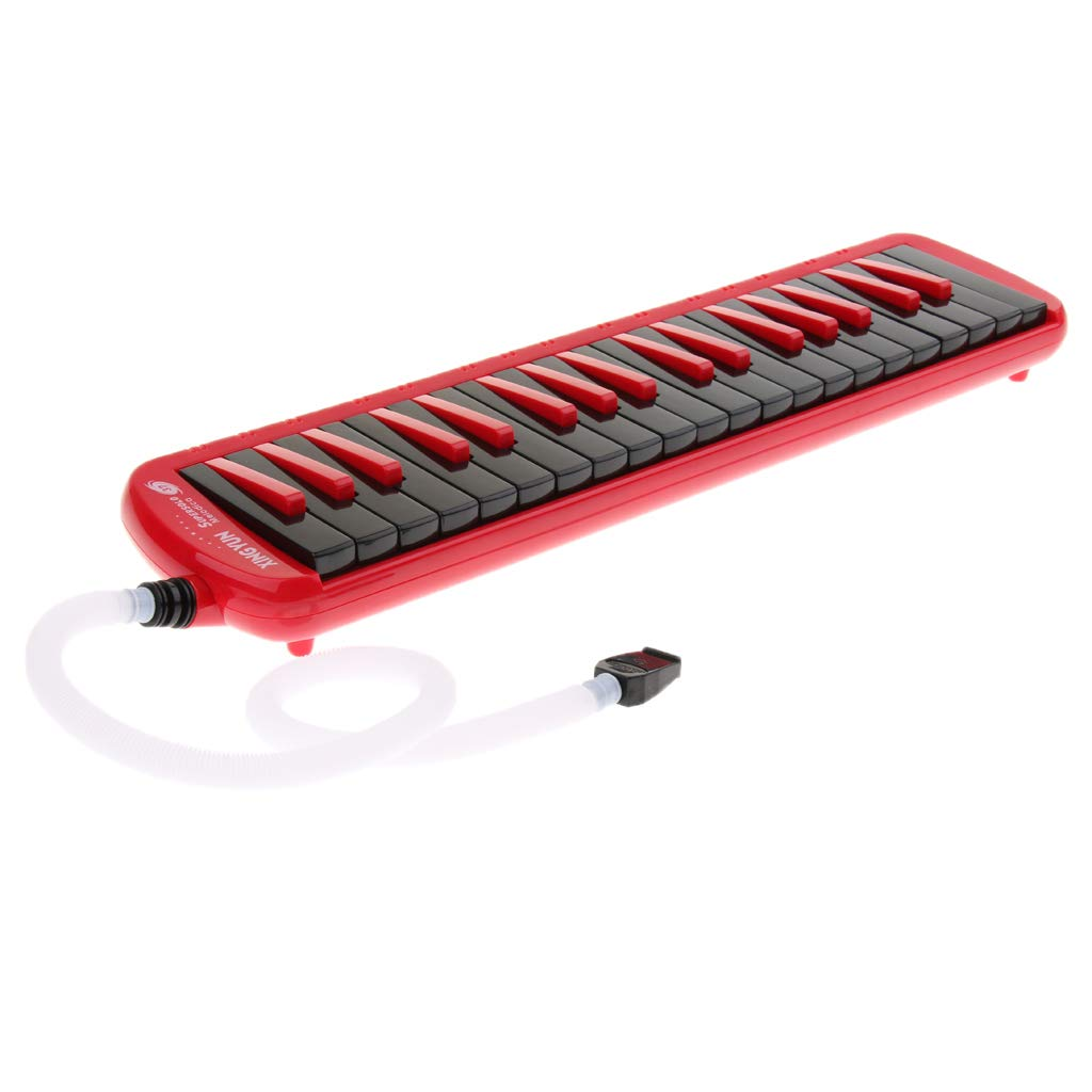 Professional 37 Key Melodica Piano Keyboard,Come with Bag,Mouthpiece,Blowpipe and Cloth by Ukuleleestyle