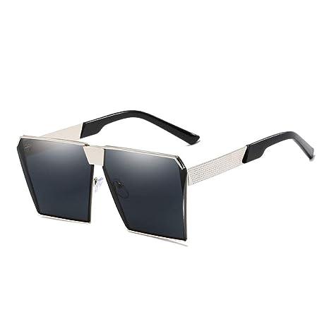 YSZDM Gafas de Sol de Mujer, Gafas de Sol con Marco de Metal ...