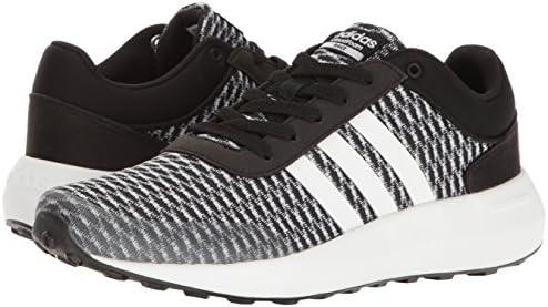 adidas Women's Cloudfoam Race Running Shoe, Black/White/Black, 11 ...