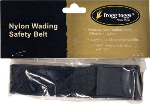 Frogg Toggs Wading Belt, Black, Adjustable