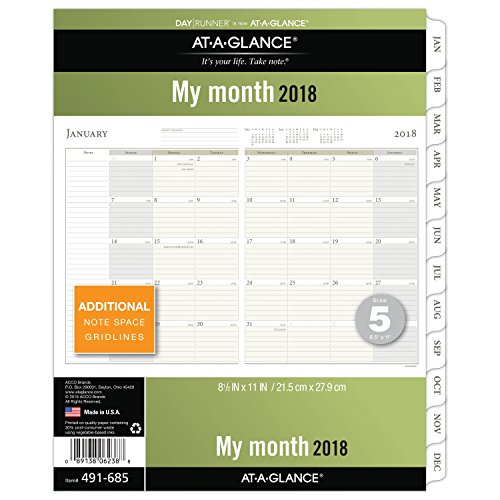 GLANCE Runner Monthly Planner January product image