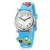 Fashion Brand Quartz Wrist Watch Baby Children Girls Boys Watch Sedancar Pattern Waterproof Watches