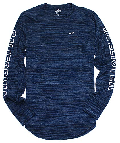 Hollister Men's Long Sleeve Graphic T-Shirt HOM-7 (Small, 2510-202) from Hollister Co..
