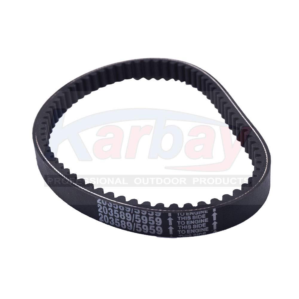 Karbay 3 Pcs Go Kart Drive Belt 725 For 30 Series Torque Converter Belts 9100-018-725