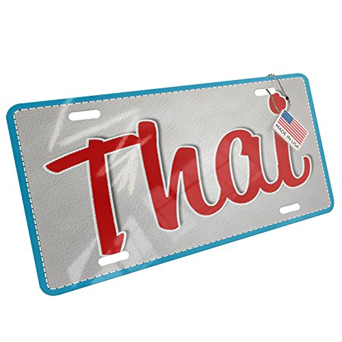NEONBLOND Metal License Plate Thai, Cat Breed Thailand