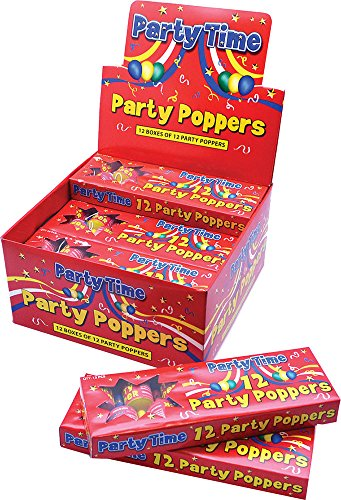 Children's Essential Fancy Dress Party Accessory Champagne Shaped Party Poppers