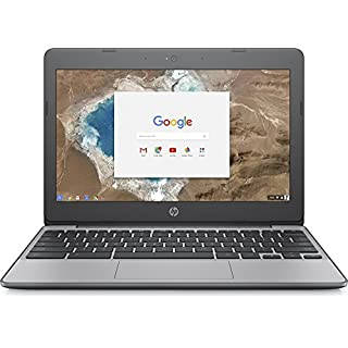 HP 11.6 Inch high performance Chromebook Laptop Computer, Intel Celeron N3060 Up to 2.48GHz, 4GB Memory, 16GB eMMC, WiFi 802.11ac, USB 3.1, Bluetooth, Webcam, Chrome OS (Renewed)