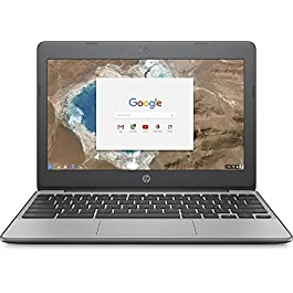 HP 11.6 Inch high performance Chromebook Laptop Computer, Intel Celeron N3060 Up to 2.48GHz, 4GB Memory, 16GB eMMC, WiFi…