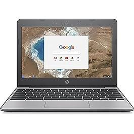 HP 11.6 Inch high performance Chromebook Laptop Computer, Intel Celeron N3060 Up to 2.48GHz, 4GB Memory, 16GB eMMC, WiFi…