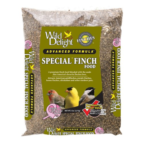 Wild Delight 381050 Advanced Formula Special Finch Food, 5 Pounds, My Pet Supplies