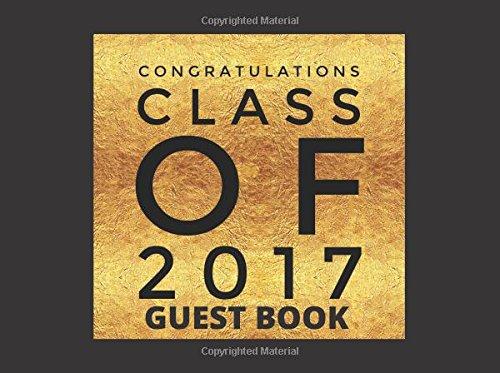 Congratulations Class 2017 Guest Book