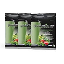 Shakeology 3 Sample Packet Gives You Energy Reduce Cravings Maintain Healthy Body Weight (Greenberry)