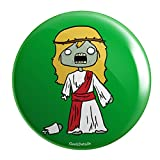 "Geek Details Zombie Themed 2.25"" Pinback Button (Zombie Jesus)"