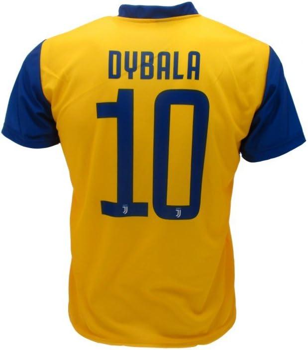 Camiseta Jersey Futbol Segundo Amarillo Juventus Dybala 10 Replica ...