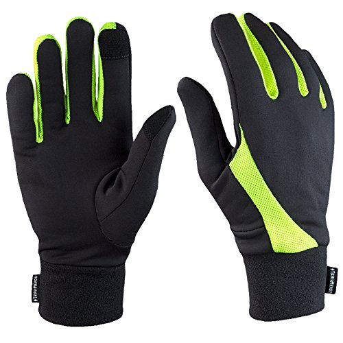 TrailHeads Elements Touchscreen Running Gloves -...