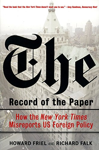 The Record of the Paper: How the New York Times...