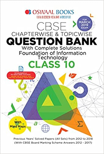Foundation Of Information Technology Class 10 Book Pdf Cbse