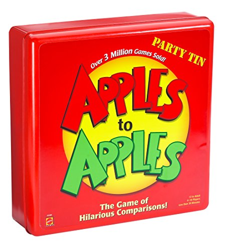 Mattel Apples to Apples: Party Box - Deluxe Metal Case by Mattel Games