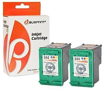 bubprint 2 Cartuchos de impresora compatible para HP 344 ...