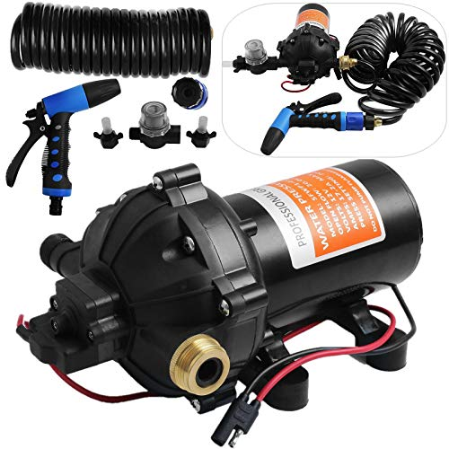 Happybuy RV Water Pump 5.3 GPM 5.5 Gallons Per Minute