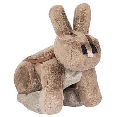 """JINX Minecraft Rabbit Plush Stuffed Toy (Multi-Color, 8"""" Tall)"""