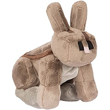 JINX Minecraft Rabbit Plush Stuffed Toy (Multi-Color, 8