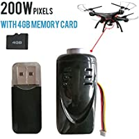 Hanbaili 2 Million Pixels Camera + 4G Memory Card for SYMA x5c x5sc x5c-1 m68 k300c Drone
