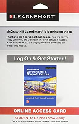 LearnSmart Standalone Access Card for Accounting for Governmental & Nonprofit Entities