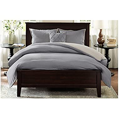 Harbor House Duvet Cover Mini Set, King, Grey