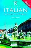 Colloquial Italian, Sylvia Lymbery, 0415120861