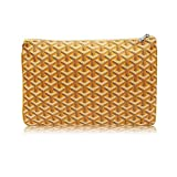 Stylesty Designer Clutch Purses for Women, Pu Envelope Fashion Clutch Bag, Women Handbag (Medium, Yellow)