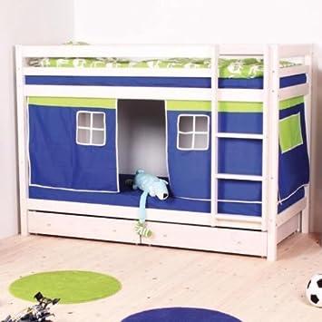 Whitewash Thuka Hit 10 Bunk Bed Amazon Co Uk Kitchen Home