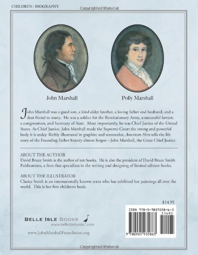American hero john marshall chief justice of the united states american hero john marshall chief justice of the united states david bruce smith clarice smith 9780985935863 amazon books fandeluxe Choice Image
