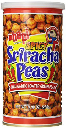 Hapi Snacks, Spicy Sriracha Peas, 9.9 oz