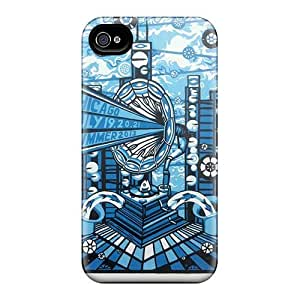 Shock Absorption Hard Cell-phone Case For Iphone 4/4s With Provide Private Custom Beautiful Grateful Dead Pictures AlissaDubois