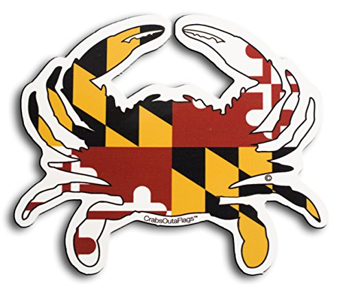 Crabs Outa Flags Maryland Magnet