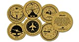 Corkology Aviation Set Flight instruments