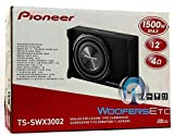 """Pioneer TS-SWX3002 12"""" Shallow-Mount Pre-Loaded"""