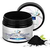 Teeth Whitening Charcoal Powder,Natural Charcoal Activated Charcoal Teeth Whitener Powder Organic Coconut Charcoal Toothpaste 2\Oz