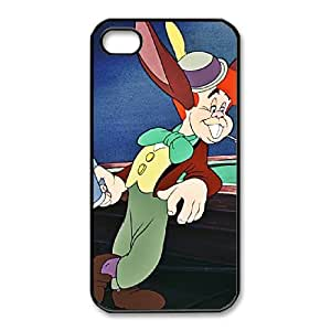 iphone4 4s Phone Case Black Pinocchio Lampwick CYL8669559