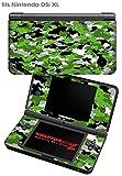 Nintendo DSi XL Skin WraptorCamo Digital Green
