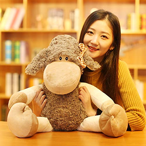 70 Cm Female DONGER Cute Toy Sheep Mountain Toy Doll Doll Cute Girl Birthday Gift, Couple Lamb  Male Models, 70 Cm