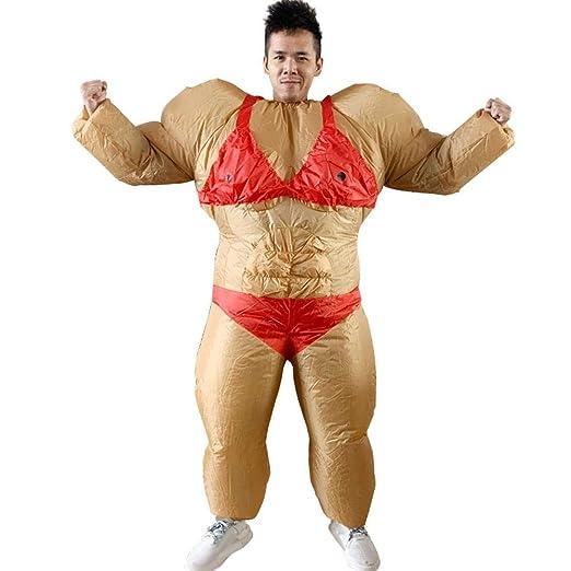 LUCYPAPASHOW Inflable Lucha Sumo Grasa Trajes Disfraces ...